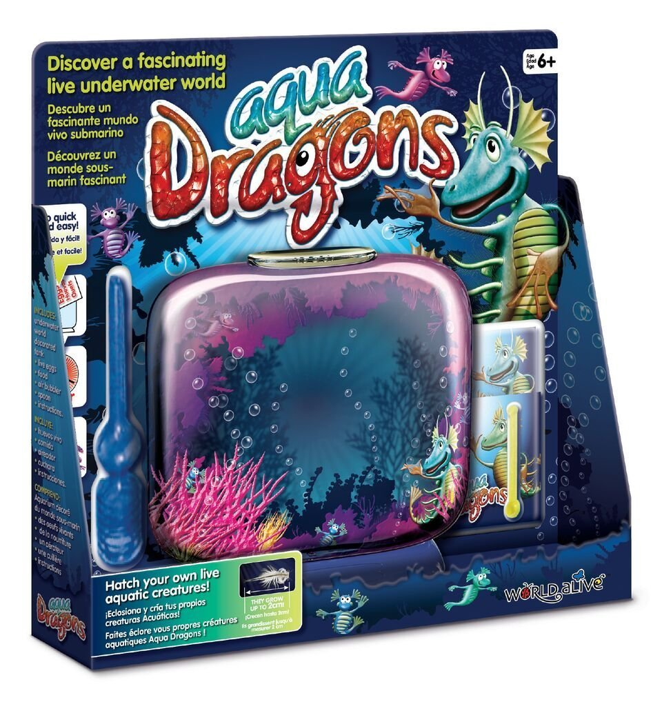 Aqua Dragons Mundo Submarino Juguete Educativo, (World Alive 4002): Amazon.es: Juguetes y juegos