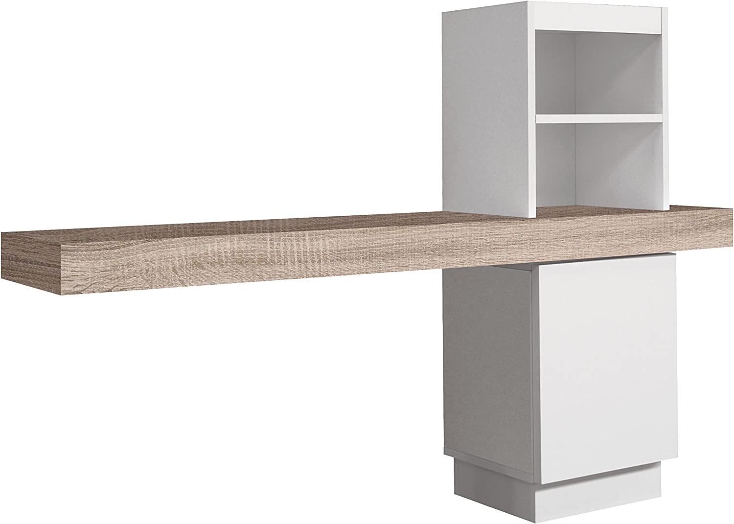 Over Home Consola Recibidor, Madera, Blanco y Cambrian, 100 x 25 x ...