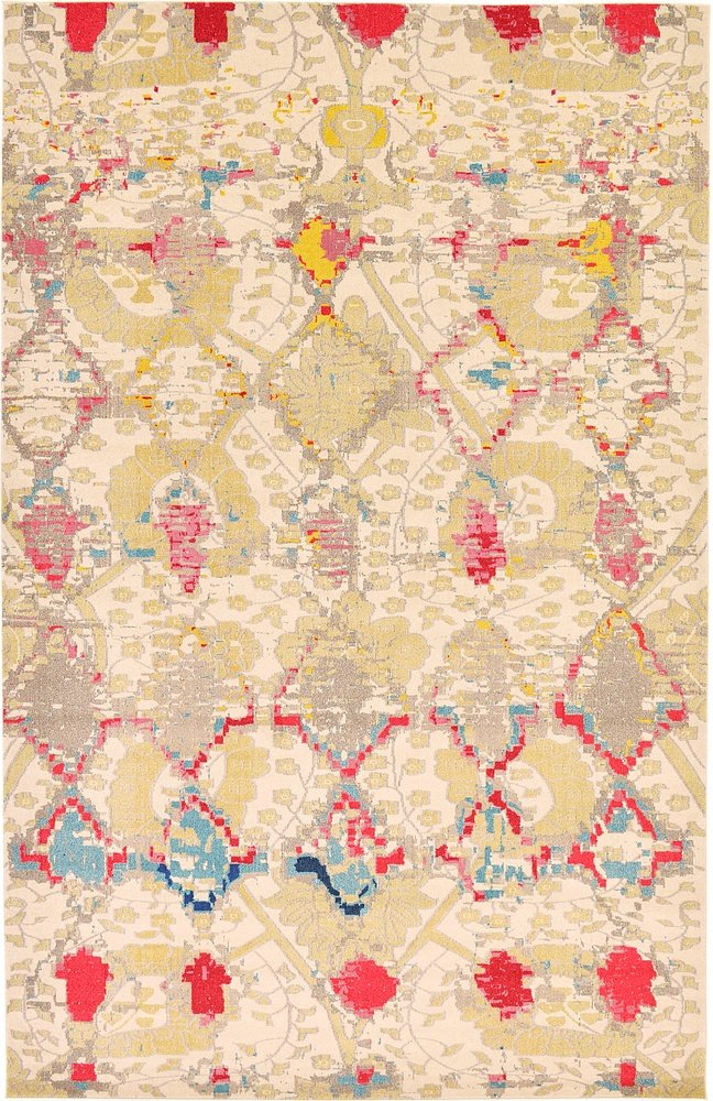 Unique Loom Modern Abstract Sedona Contemporary Area Rug 2385796