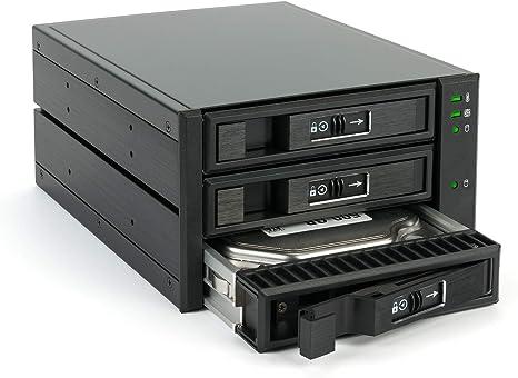 Fantec BP-T2131 - Caja de Almacenamiento SAS y SATA para 3 Discos ...
