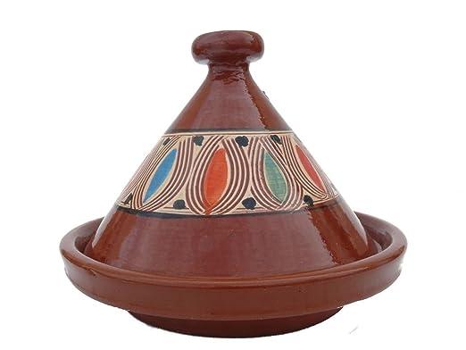 Tajine marroquí para cocinar Ø 35 cm para 3-5 personas ...