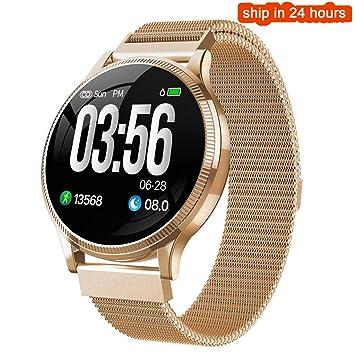 FANZIFAN Reloj Inteligente Fitness Tracker Smart Watch IP67 ...