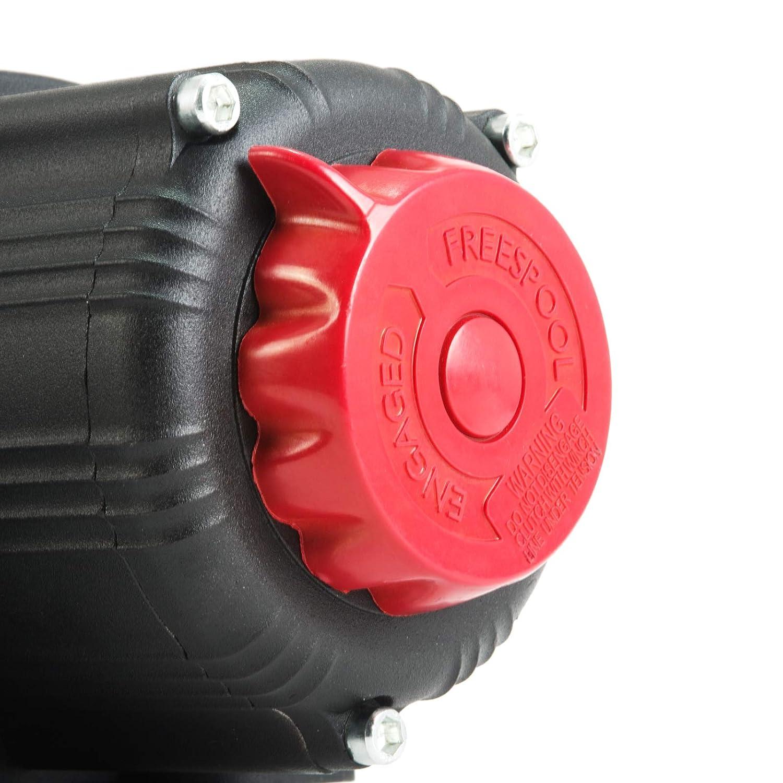 2040Kg 12v Rhino Electric Winch Wireless 4500Lb