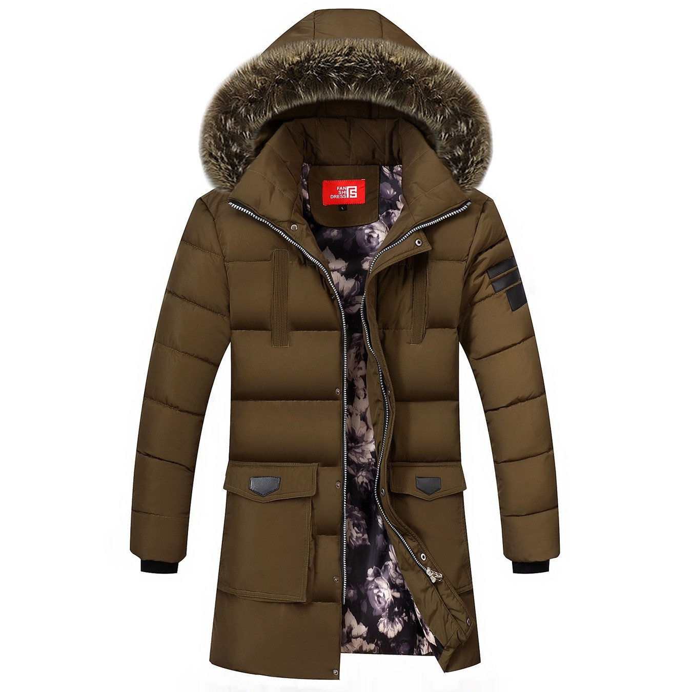 Baumwolle& 039;s Sport Bekleidung Herren Oberbekleidung Winter Sport Mantel