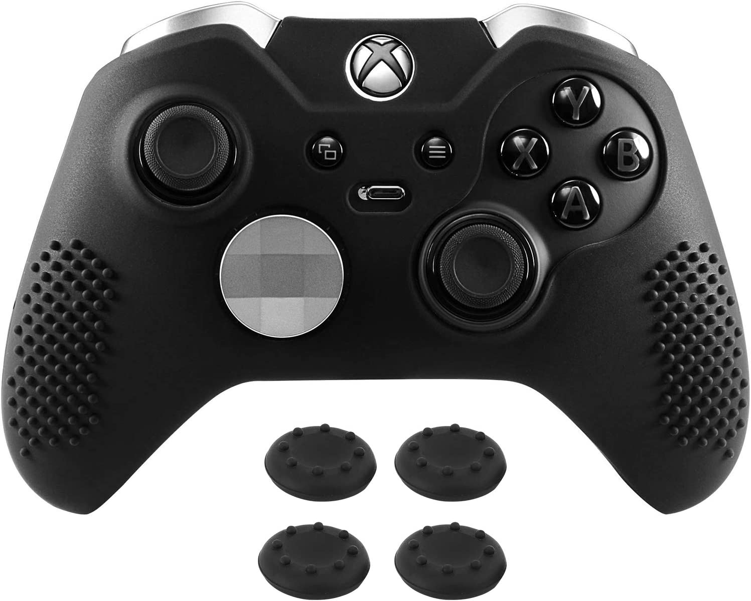 MoKo Silicone Case Fit Xbox One Elite Controller, Anti-slip ...