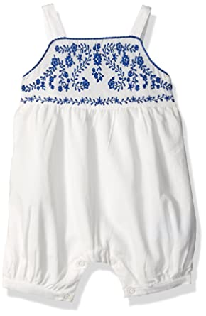 96dbab0a5 Amazon.com  The Children s Place Baby Girls  Sleeveless Romper  Clothing