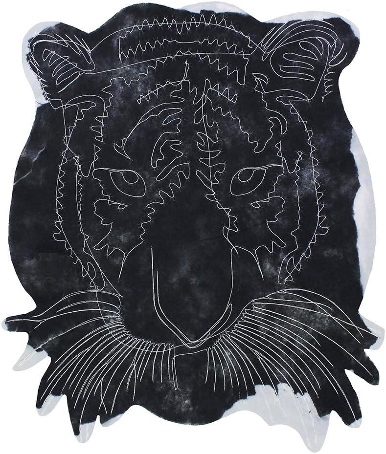 Parches grandes de lentejuelas con cabeza de le/ón para chaqueta o ropa decorada