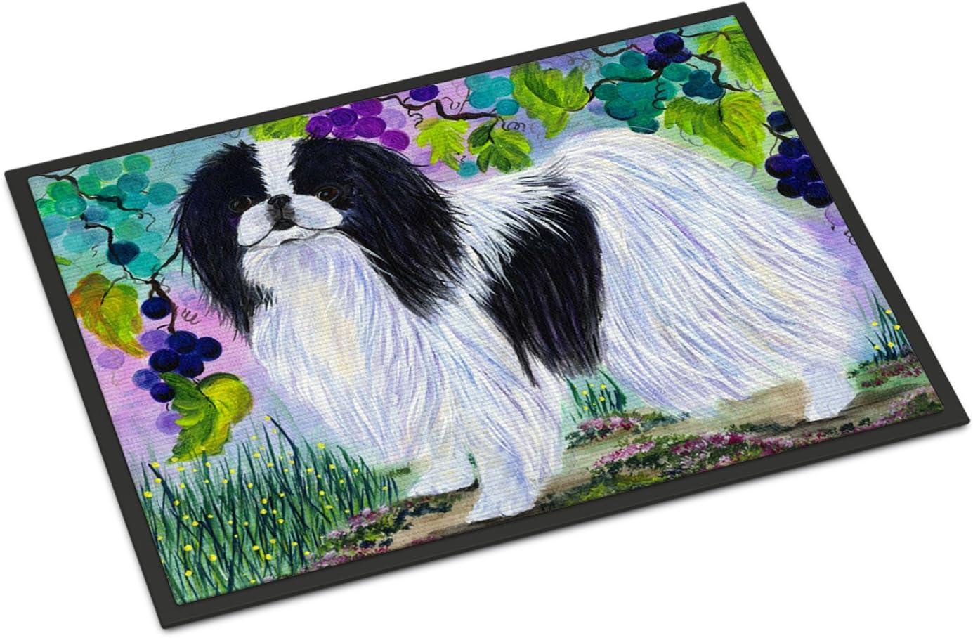 Caroline s Treasures SS8270JMAT Japanese Chin Indoor or Outdoor Mat 24×36 Doormat, 24H X 36W, Multicolor