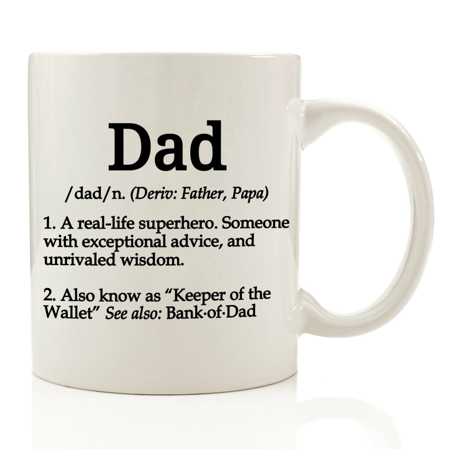 Amazon.com: Dad Definition Funny Coffee Mug 11 oz - Top Christmas ...