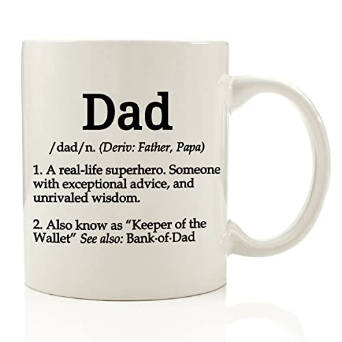 dad definition funny coffee mug 11 oz top christmas gifts for dad gift for - Christmas Presents For Dads