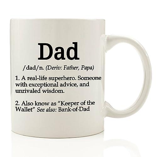Dad Definition Funny Coffee Mug 11 Oz