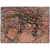 IGEMY - Fondo de espuma 3D para acuario y terrario para reptiles, diseño de roca