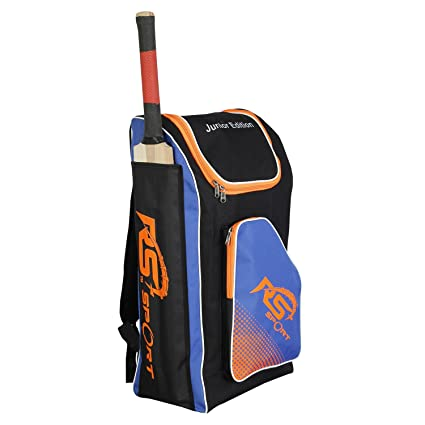 5d8cb896e Buy RS Junior Edition Blue Sports Cricket Kit Bag Online at Low Prices in  India - Amazon.in