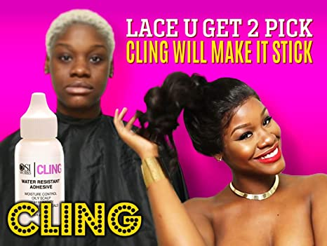 Amazon Com Cling Edge Safe Nontoxic Glue For Lace Front Wig
