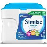 Similac雅培进取型婴儿奶粉配方1段奶粉23.2盎司(658g)/桶 6罐装(包装可能不同)