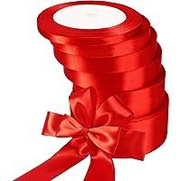 6 Rollos Cintas de Raso de Navidad Cinta