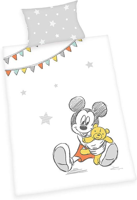 Herding Disney Juego de Cama, algodón, Blanco, 40 x 60 cm, 100 x ...