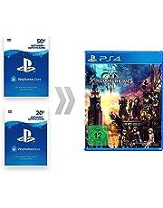 PSN Guthaben-Aufladung für Kingdom Hearts III [PS4 Download Code - österreichisches Konto]