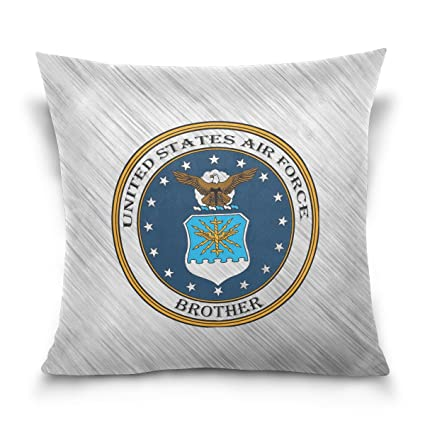 Amazon.com: Donnnapink Throw Pillow Case US Air Force ...