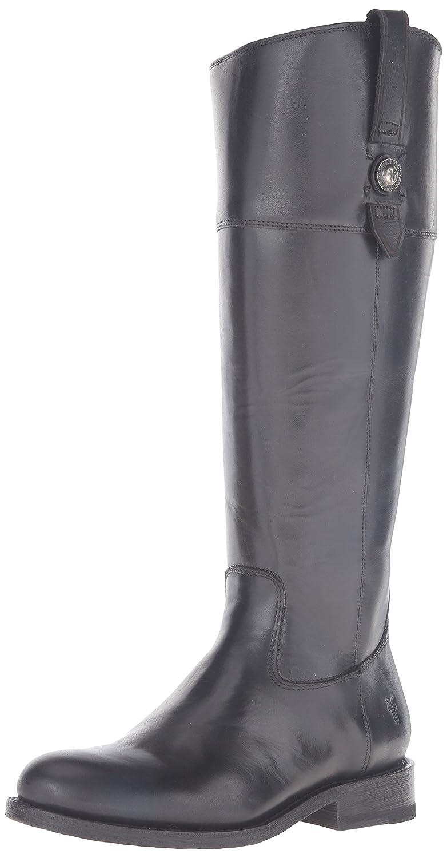 FRYE Women's Jayden Button Tall-SMVLE Riding Boot B01AA9LYA0 10 B(M) US Black/Multi Extended Calf-76095