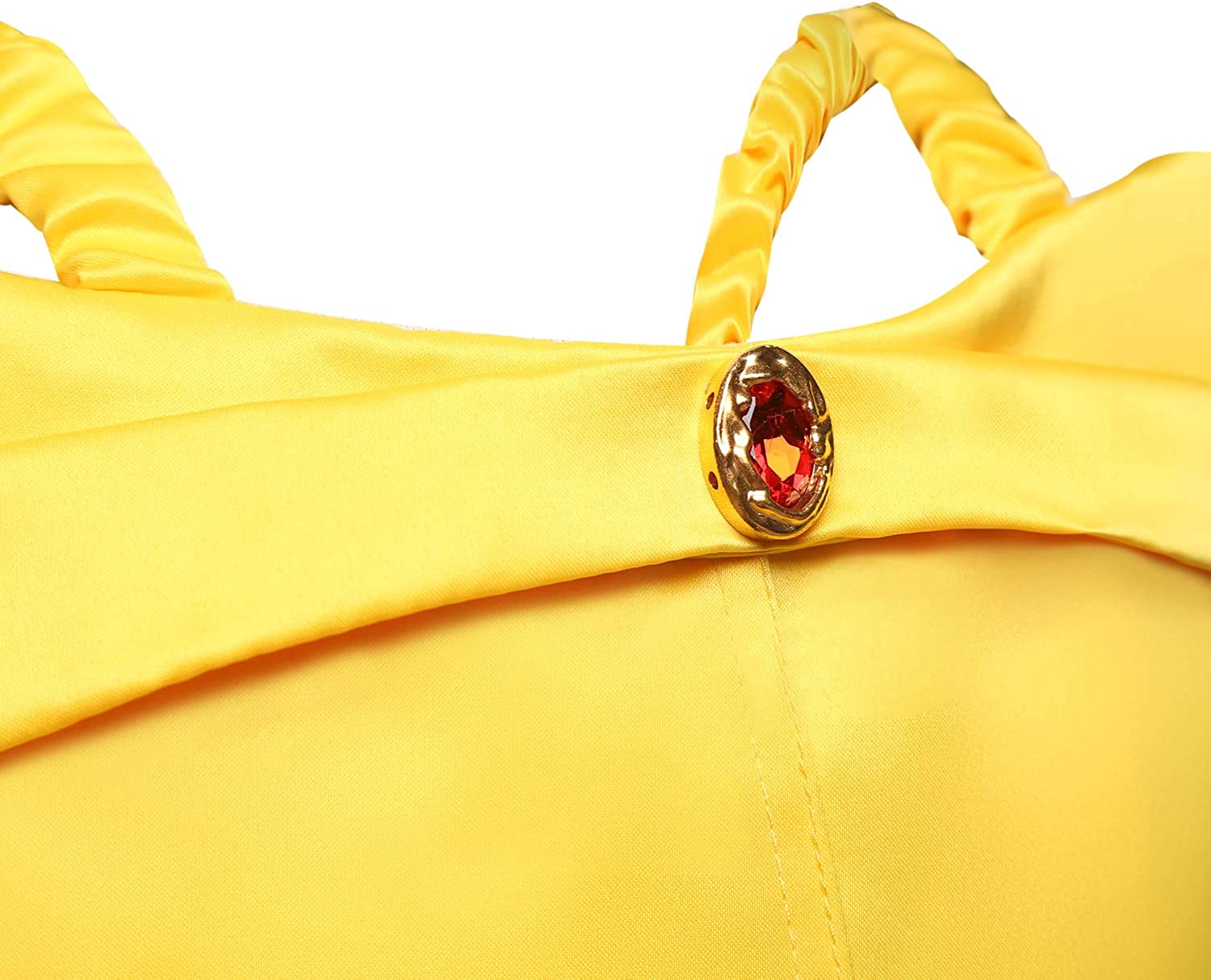 Bell Fancy Dress Yellow Dressing Up Outfit