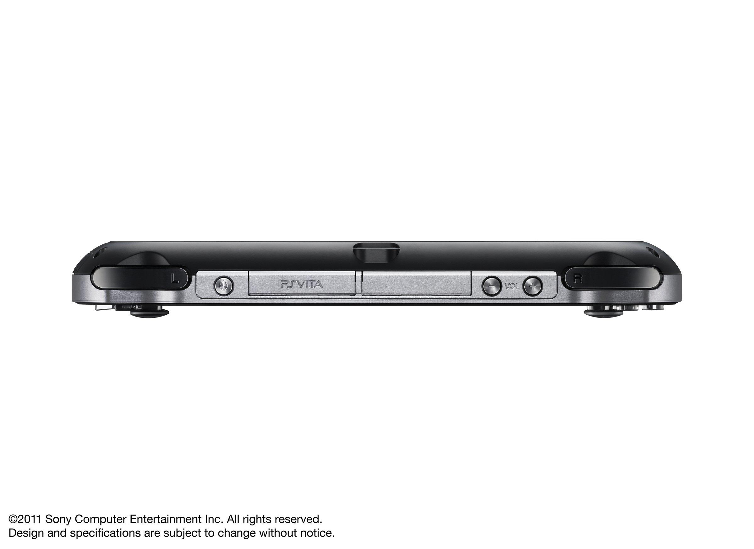 PlayStation Vita 3G/Wi-Fi Model Crystal Black Limited edition (PCH-1100AB01) by Sony (Image #7)
