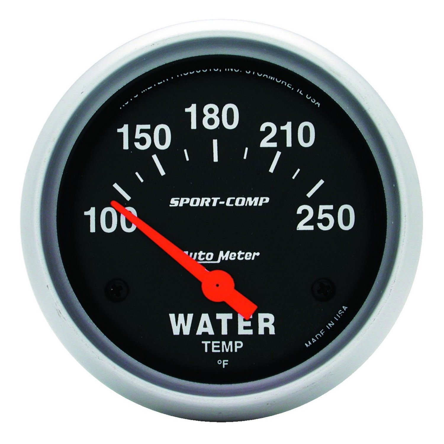 Auto Meter 3531 Sport-Comp Electric Water Temperature Gauge by Auto Meter