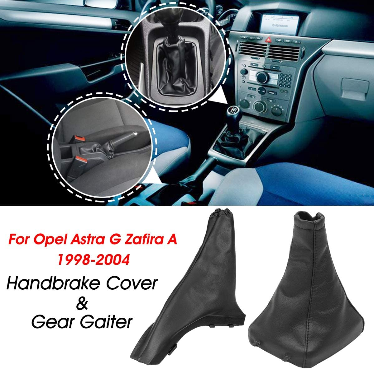 Ddanke 1 Paar Schaltsack Handbremsmanschette Für Opel Astra G Zafira A 1998 2004 Baumarkt