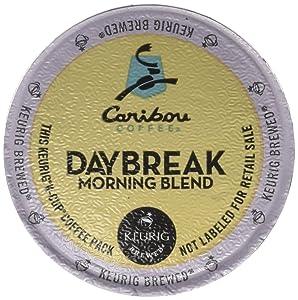 Keurig, Caribou Coffee, Daybreak Morning Blend, K-Cup packs, 24-Count