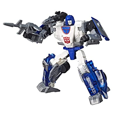Transformers Toys Generations War for Cybertron Deluxe WFC-S43 Autobot Mirage Figure - Siege Chapter - Adults and Kids Ages 8 and Up, 5.5-inch: Toys & Games
