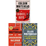 Colson Whitehead Collection 3 Books Set (The Nickel Boys, The Underground Railroad, The Colossus of New York)