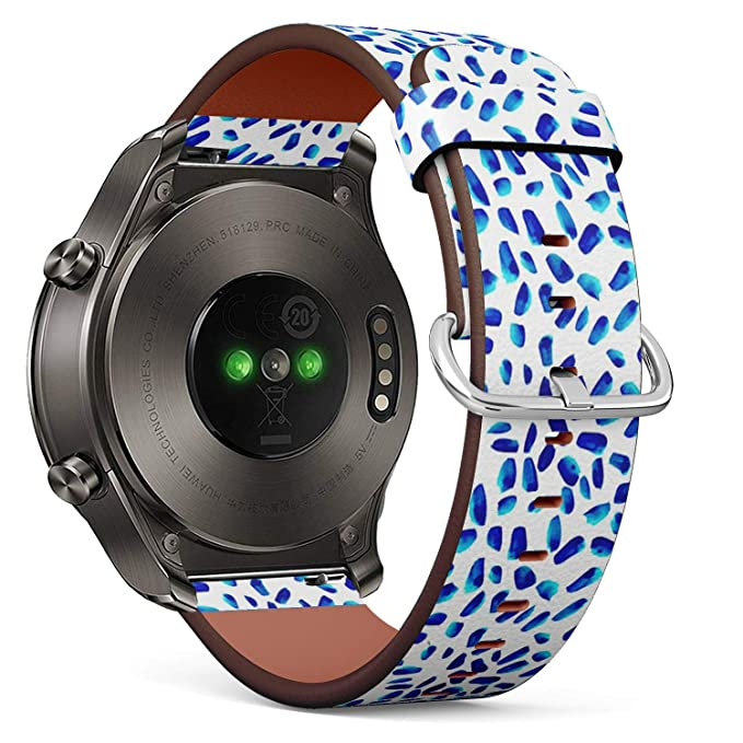 Compatible con Huawei Watch 2 Classic, Correa de Cuero para Reloj ...