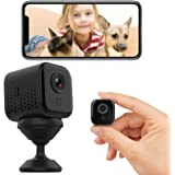 Trivol Mini WiFi Camera Portable Small Crisp 1080P Wireless Cam with Super Night Vision Live Streaming and Motion…