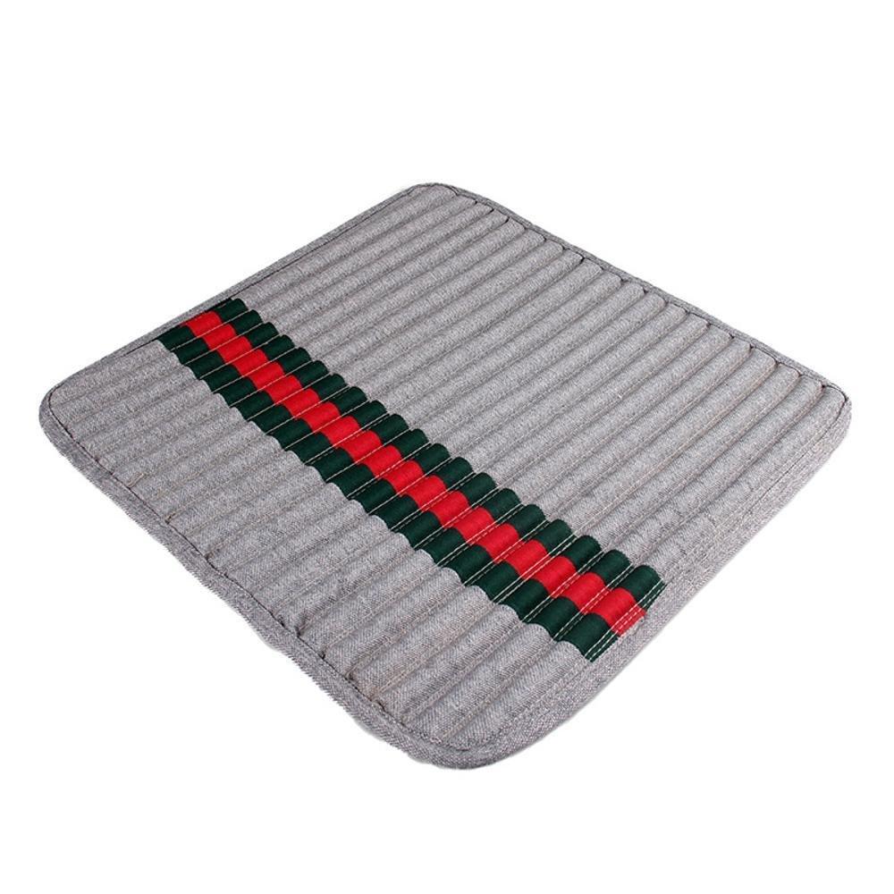 A Dixinla Pet Bed Pet seat Cushion Breathable Linen Blanket Health mat