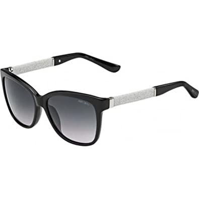 a3763b3cb0da6 Jimmy Choo Cora Sunglasses Black Gray Gradient   Cleaning Kit Bundle
