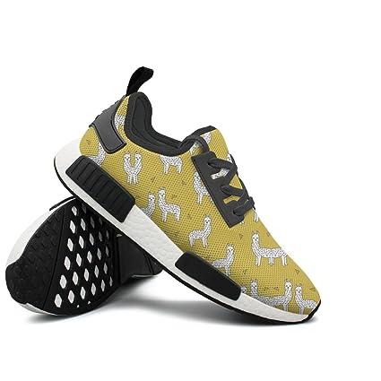 Llamas Smile Men Sport Sneakers Running Shoes