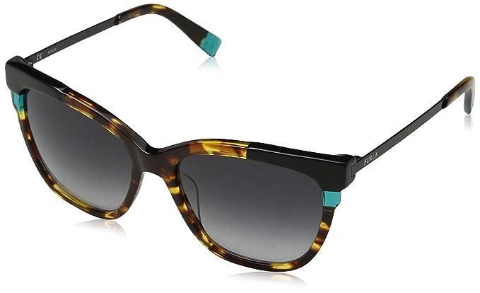 Furla Arabesque Sunglasses in Havana SFU148 0743 55 Furla YaNxARcC