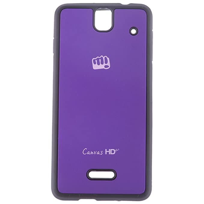 more photos 0abfc 33ad6 BELMARK Back Cover For Micromax Canvas Hd Plus A190 (Blue): Amazon ...