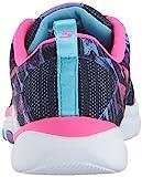 Skechers Kids Girls' Trainer Lite Sneaker,navy/hot