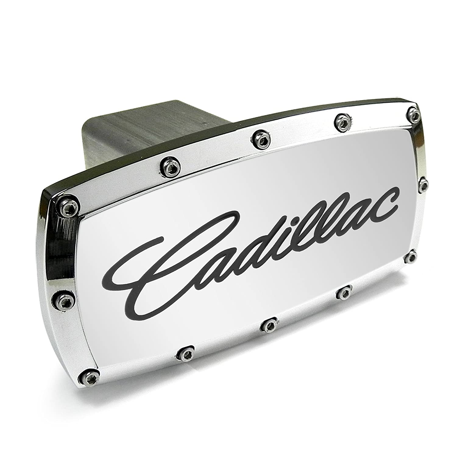 Cadillac Engraved Billet Aluminum Tow Hitch Cover EL
