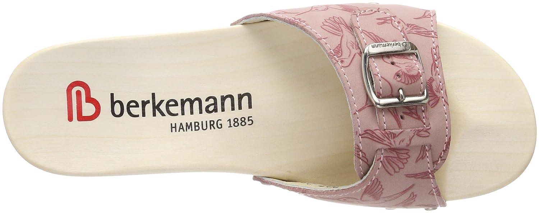 Berkemann Damen Hamburg Pantoletten Pantoletten Hamburg Rot (Altrosa/Kolibri) 77be5e