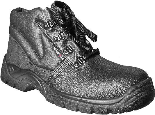 WARRIOR Mens Steel Toe Chukka Boots | Boots