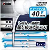 Tabata(タバタ) ゴルフ ティー 段付き プラスチック ティー スリム アクションティー GV1411 PWBL