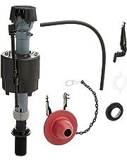 Fluidmaster 400CRP14 Universal Toilet Fill Valve and Flapper Repair Kit, for 2-Inch Flush Valve Toilets