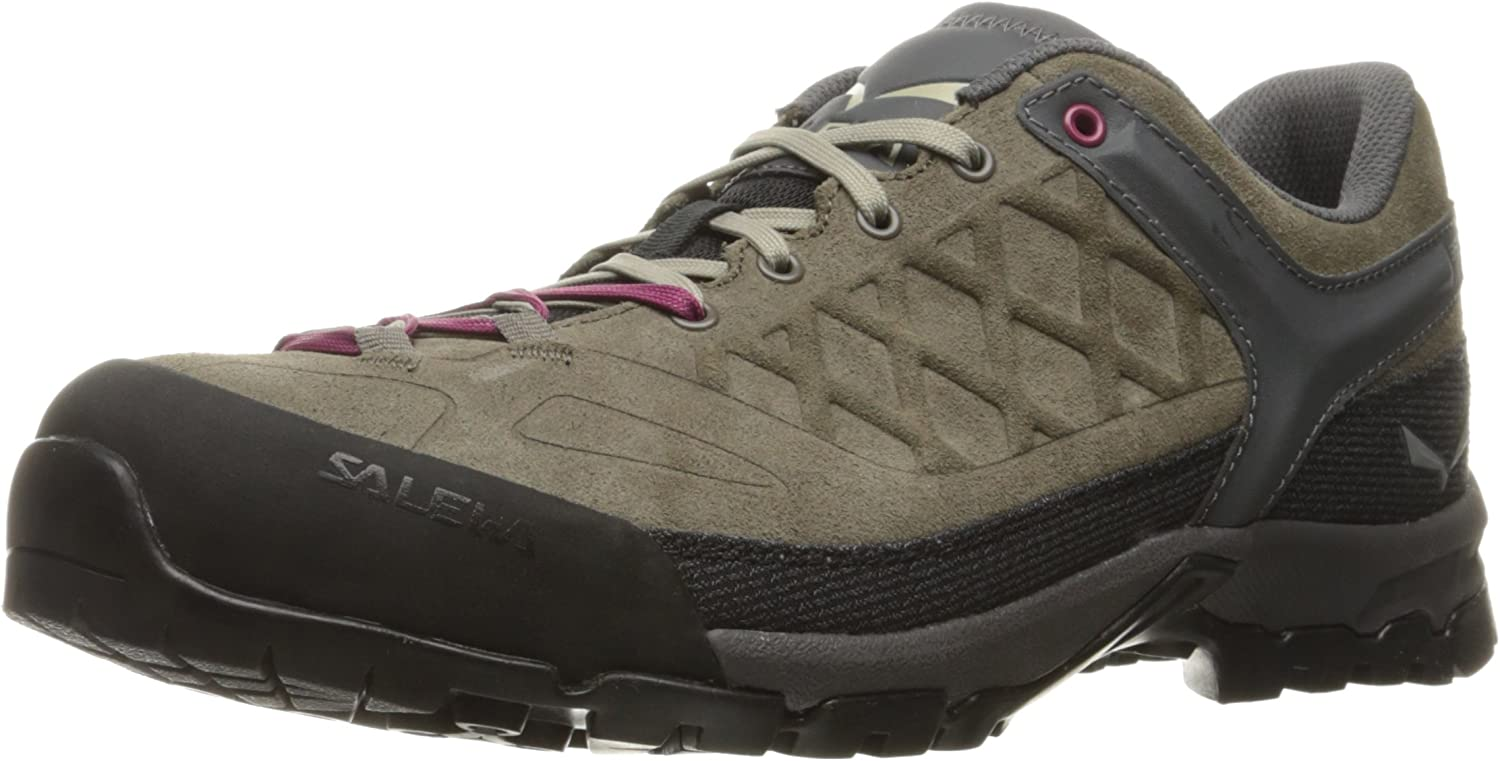 Salewa Women s Trektail Approach Shoe Hiking, Alpine Climbing, Scrambles Vibram Sole, Climbing Lacing, Durable Construction