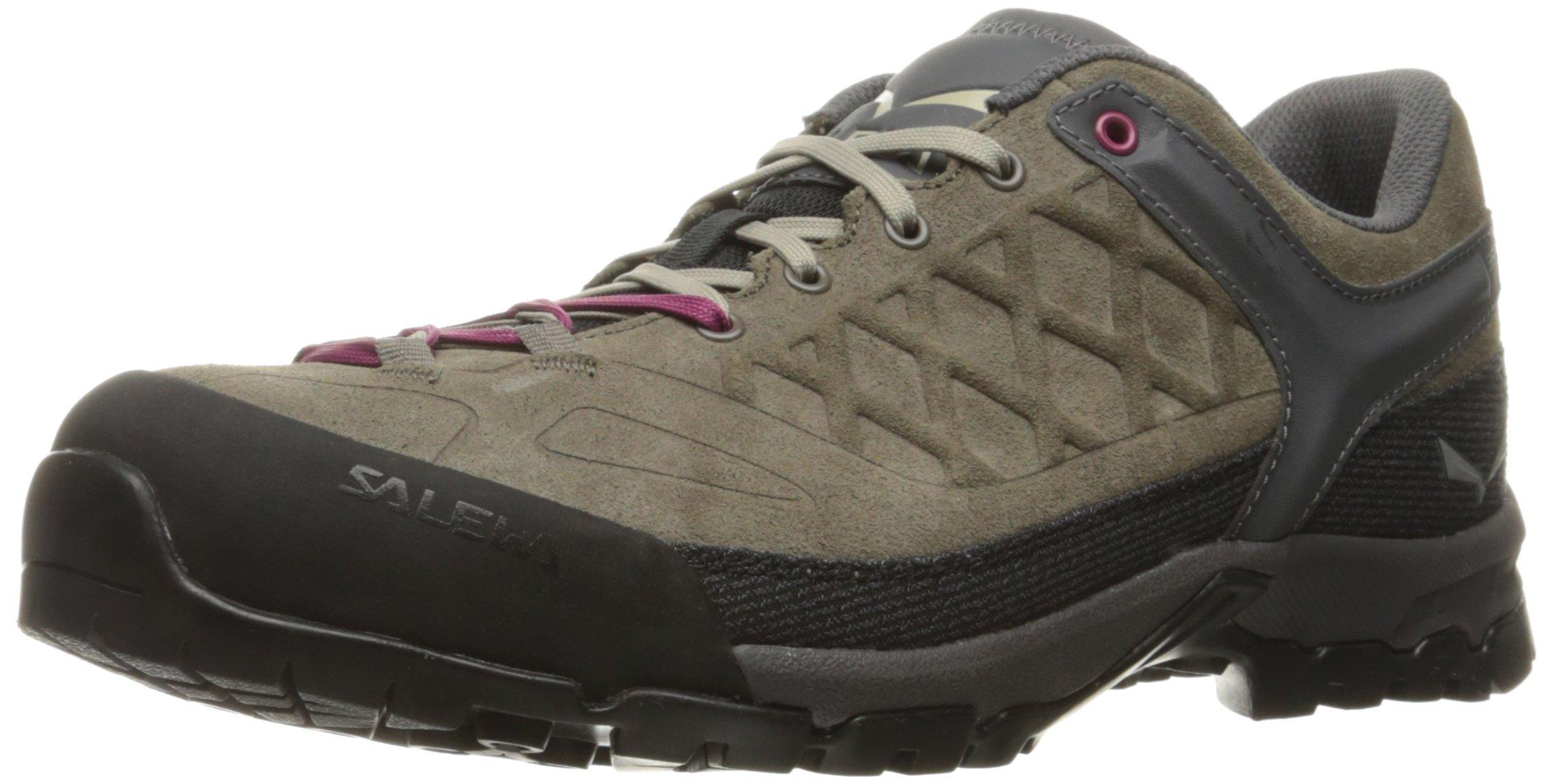 Salewa Women's Trektail Approach Shoe, Falcon/Red Onion, 10