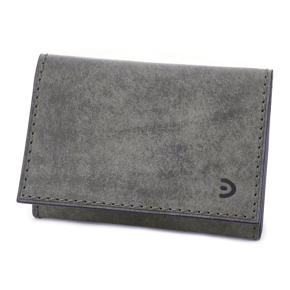 [バギーポート] カードケース 本革 ブオナ ZYS2404 メンズ B0792PVB39 グレー グレー