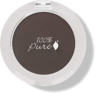 product image for 100% PURE Pressed Powder Eye Shadow (Fruit Pigmented), Potatoe Shimmer Eyeshadow, Buildable Pigment, Easy to Apply, Natural Makeup (Matte Deep Cedar Brown) - 0.07 oz