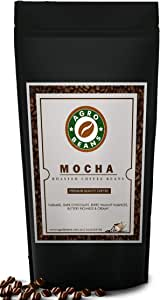 Mocha Coffee Beans - Agro Beans ( Freshly Roasted Award Winning Coffee Beans) (Whole Beans, 500gm)