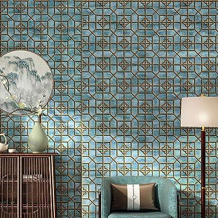 Amazon.com: Papel pintado estilo chino clásico salón ...